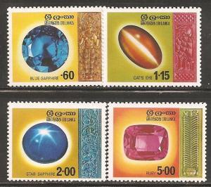 Sri Lanka SC 507-10 MNH