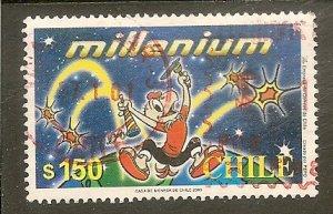 Chile   Scott 1316  Cartoon Character, Millennium   Used