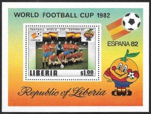 Liberia Mint Never Hinged ~ Souvenir Sheet ~ [9193]