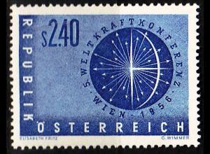 ÖSTERREICH AUSTRIA [1956] MiNr 1026 ( **/mnh )