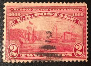 372 Half-Moon Bay, Hudson-Fulton Series, circulated single, Vic's Stamp Stash