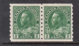 Canada #128 XF/NH Coil Pair