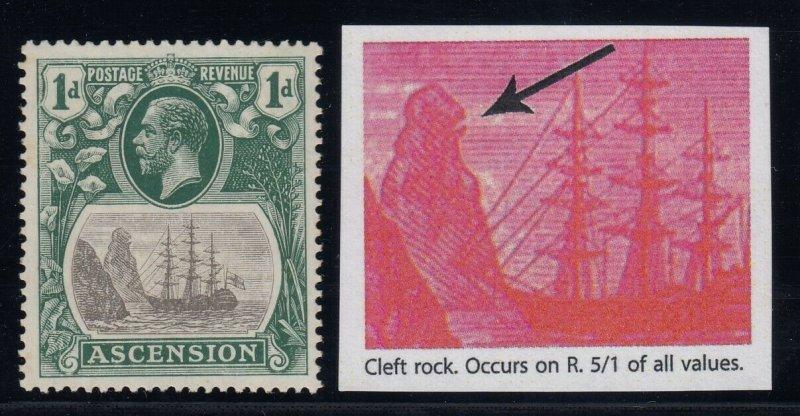Ascension, SG 11c, MLH, Cleft Rock variety