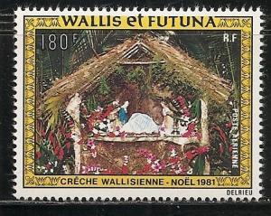 Wallis and Futuna Islands C111 1981 Christmas single MNH