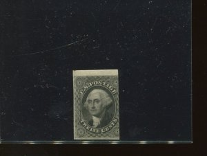 Scott 17 Washington Imperf Mint Stamp with PSE Cert Scott Cat $6250 (17-PSE-2)