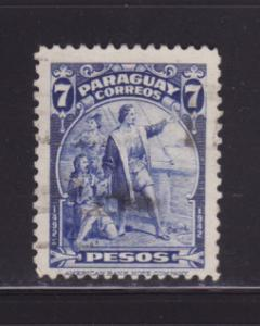 Paraguay 402 U Christopher Columbus, Explorer (D)