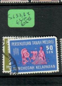 MALAYA MALAYA FEDERATION  (P1305BB)  SG 32, 34   VFU