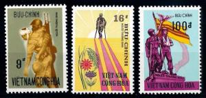 [65398] Vietnam South 1972 Wounded Soldiers  MNH