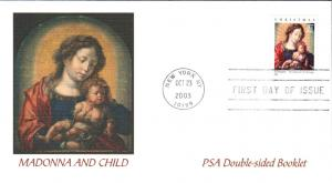 #3820 Madonna and Child Fleetwood FDC