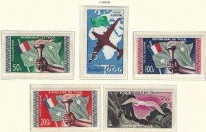 Togo C26-30 MLH cv 19.90 BIN $8.50