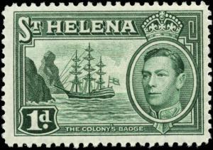Saint Helena Scott #119 Mint