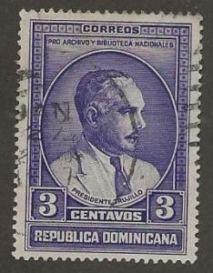 DOMINICAN REPUBLIC SC # 313   USED