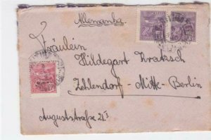 Brasil 1920s to  Berlin stamps cover   r19855