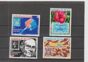 Wallis & Futuna Islands  Scott#  C90-C93  MNH  (1979 Sir Rowland Hill)