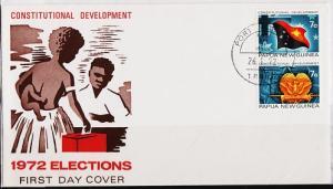Papua New Guinea. 1971 FDC S.G.212/213 Fine Used