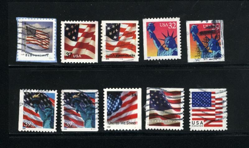 USA #102  used  PD  0.80