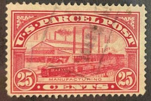 US Stamps #Q9 Used Parcel Post #Q9A142