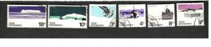 1968 Ross Dependency Antarctica SC #L9-14 Θ used stamps