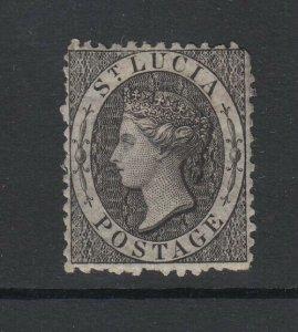 St. Lucia, Scott 7 (SG 11), MHR