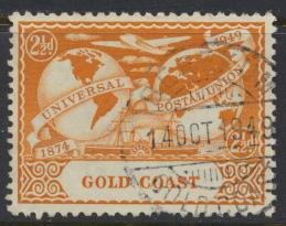 Gold Coast SG 150 Scott #145 Fine Used UPU see cancel and  see details