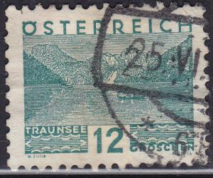 Austria 341 USED 1932 Traunsee