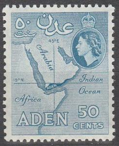 Aden #53 MNH F-VF  (SU4324)