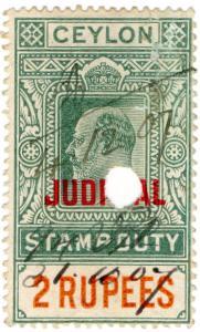 (I.B) Ceylon Revenue : Judicial 2R