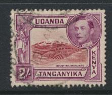 Kenya Uganda Tanganyika SG 146 perf 13¼ Used