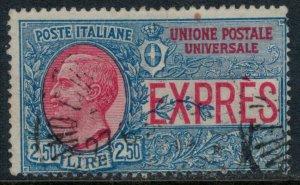 Italy #E8  CV $10.50