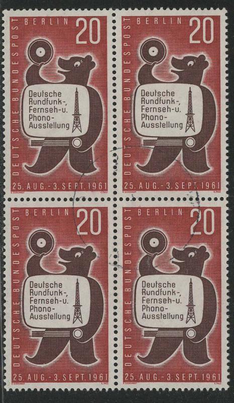 Germany Berlin Scott # 9N195, used, b/4