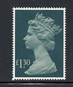 Great Britain Sc MH 170 1983 £1.30 QE II Machin Head  stamp mint NH