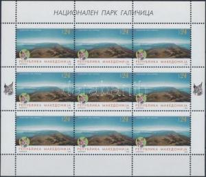 Makedonien stamp National Park minisheet MNH 2006 Mi 404 WS176067