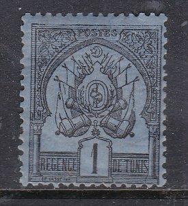 TUNISIA ^^^^1893   YT# 1 mint hinged   CLASSIC  $$@dcc711tunis
