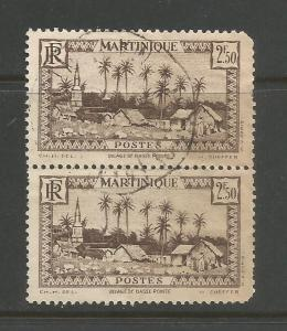 MARTINIQUE 168 VFU PAIR Z2642