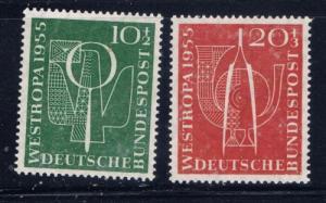 Germany B342-43 NH 1955 set