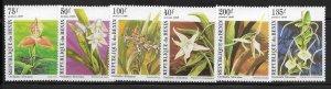 Benin 795-800 Orchids Mint NH