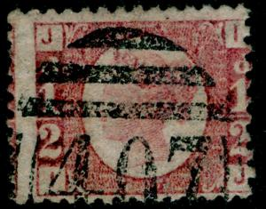 SG48, ½d rose-red PLATE 20, USED. Cat £80. IJ