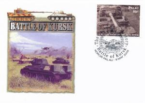 [96825] Palau 2005 World War II Battle of Kursk Special Cachet Cover