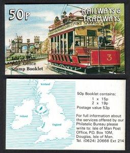 Isle of Man Marine Drive Tramway Booklet SG#SB23