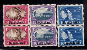 Basutoland 1945 SC# 29-31