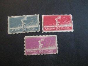 Uruguay #282-84 Mint Hinged WDWPhilatelic (H5K7)