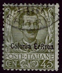 Italian Eritrea SC#26 Used F-VF...Worth a Close Look!!
