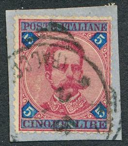 ITALY 72 USED, F-VF ON PIECE