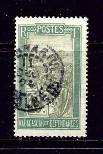 Malagasy 85 Used 1922 issue