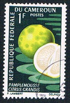 Cameroun 460 Used Grapefruit (BP653)