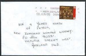 NEW ZEALAND 2006 cover, 50c CAL RUTHERFORDS 120th Anniv....................25627