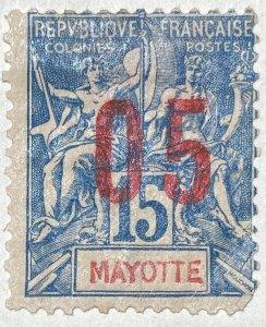 AlexStamps MAYOTTE #24 FVF Mint