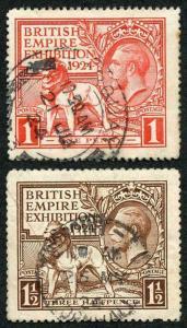 SG430/431 1924 Wembley used