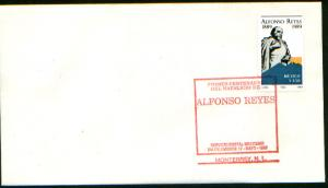 MEXICO 1611,  FDC Centenary of the Birth of Alfonso Reyes. F-VF.
