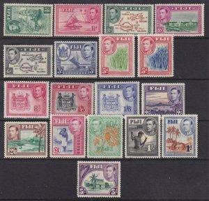 Fiji 1938-1955 SC 117-131B MLH Set